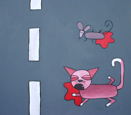 Il gatto e il topo acciaccati