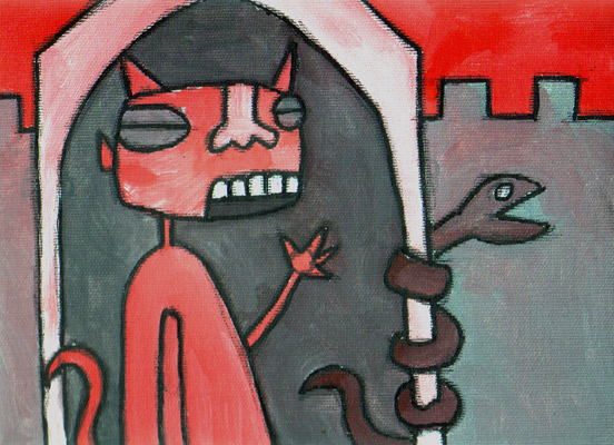 L'inferno - F. Diotallevi