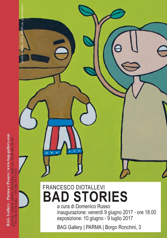 Inaugurazione Bad stories